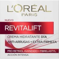 Crema antiarrugas de día L`OREAL Revitalift, tarro 50 ml