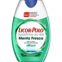Dentífrico 2en1 menta fresca LICOR DEL POLO, bote 75 ml