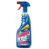 Multiusos azul GLASSEX, pistola 750 ml