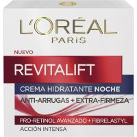 Crema de noche L`OREAL Revitalift, tarro 50 ml