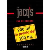 Colonia para hombre JACQ`S, frasco 200 ml