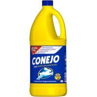 Lejía hogar CONEJO, garrafa 2 litros