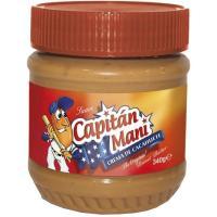 Crema de cacahuete suave CAPITAN MANI, frasco 340 g