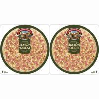 Pizza de jamón-queso CASA TARRADELLAS, pack 2x220 g