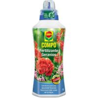 Fertilizante liquido Geranio COMPO, botella 1 litro