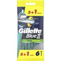 Maquinilla desechable GILLETTE Slalom Blue II, pack 5+1 unid.