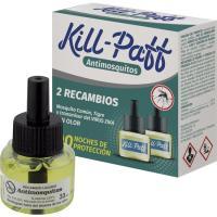 Insecticida eléctrico KILL-PAFF, recambio 2 unid.