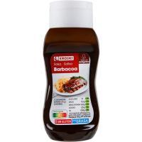 Salsa barbacoa EROSKI, bocabajo 300 g