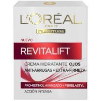 Crema cuidado de ojos L`OREAL Revitalift, tarro 15 ml