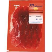 Jamón ibérico de cebo 50% raza iberica MATORRAL, sobre 125 g