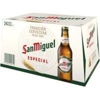 Cerveza SAN MIGUEL, pack botellín 24x25 cl