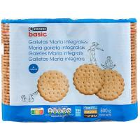 Galleta integral EROSKI basic, pack 4x200 g