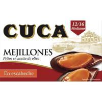 Mejillón en escabeche 12/16 piezas CUCA, lata 115 g