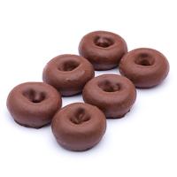 Rosquilla de cacao, bandeja 10 unid.