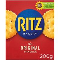 Crackers RITZ, caja 200 g