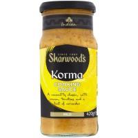 Salsa Korma SHARWOODS, tarro 420 g