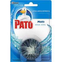 Limpiador inodoros cisterna agua azul PATOMATIC, 1u