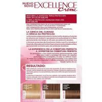 Tinte rubio claro claro ceniza N.9.1 EXCELLENCE, caja 1 ud
