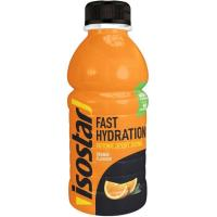 Bebida isotónica sabor naranja ISOSTAR, botellín 50 cl