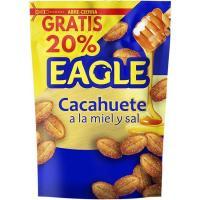 Cacahuetes fritos con miel EAGLE, bolsa 75 g
