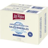 Jabón LA TOJA, pastilla, pack 2x125 g