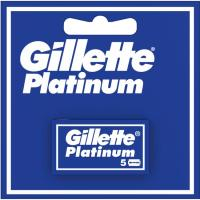 Hojas de afeitar GILLETTE Platinum, pack 5 unid.