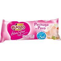 Pechuga de pavo sin grasa reducida sal ELPOZO, pieza 400 g