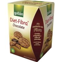 Galleta con chocolate GULLÓN Diet Fibra, caja 450 g