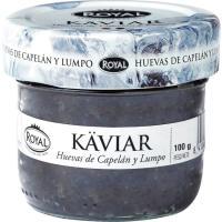 Huevas negras de Islandia ROYAL, frasco 100 g