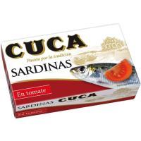 Sardinas en tomate CUCA, lata 120 g