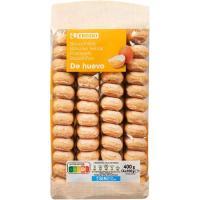 Bizcocho con huevo EROSKI, paquete 400 g