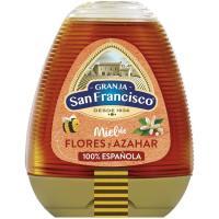 Miel azahar GRANJA SAN FRANCISCO, dosificador 350 g