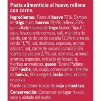 Tortellini con carne EROSKI, paquete 250 g