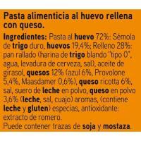 Tortellini con queso EROSKI, paquete 250 g