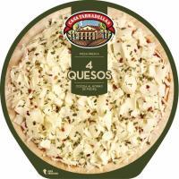 Pizza de 4 quesos CASA TARRADELLAS, 1 ud., 390 g