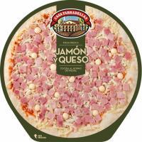 Pizza de jamón-queso CASA TARRADELLAS, 1 unid., 405 g