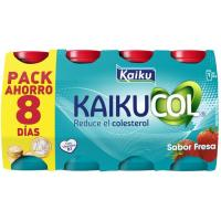 Reductor de colesterol de fresa KAIKUCOL, pack 8x65 ml