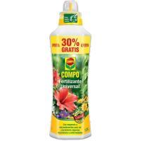 Fertilizante liquido universal COMPO,  1l+30% gratis