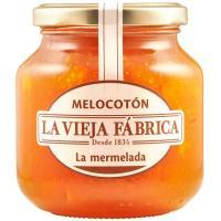 Mermelada de melocotón LA VIEJA FABRICA, frasco 350 g