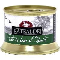 Paté de Foie al Oporto KATEALDE, lata 135 g