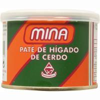 Paté de hígado de cerdo MINA, lata 200 g