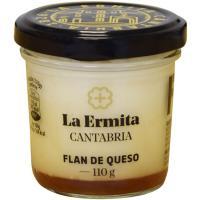 Flan de queso LA ERMITA, tarro 110 g