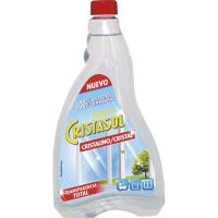 Limpia cristales cristalino CRISTASOL, recambio 750 ml