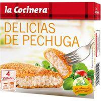 Pollo empanado LA COCINERA, caja 330 g