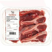 Cordero chuleteado barbacoa, bandeja aprox. 1.25 kg