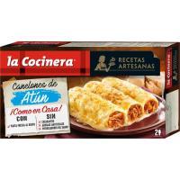 Canelones de atún LA COCINERA, caja 530 g