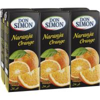 Zumo de naranja DON SIMON, pack 6x20 cl