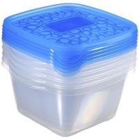 Hermetico de plástico Take away 1,1 litros KETER, 5 uds