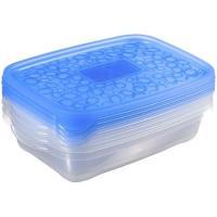 Hermetico de plástico Take away 1 litros KETER, 4 uds