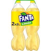 Refresco de limón FANTA, pack 2x2 litros